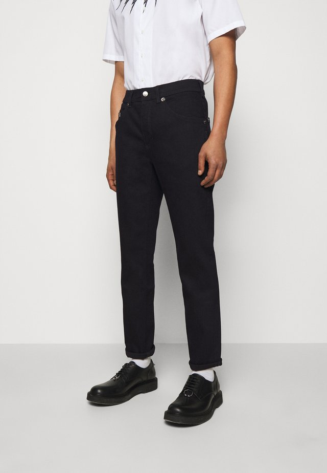 REGULAR RISE - Jean slim - dark indigo