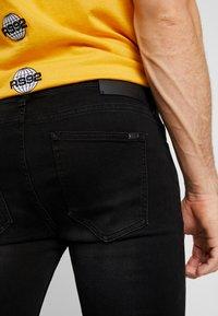 Tigha - MORTY - Jeans Skinny Fit - black - 3