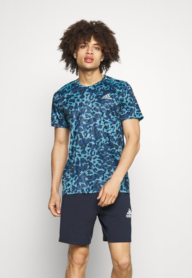 TEE MEN - T-Shirt print - hazy blue