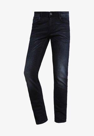 CULVER - Slim fit jeans - blackblue denim