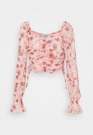 GATHERED - Langærmede T-shirts - rose