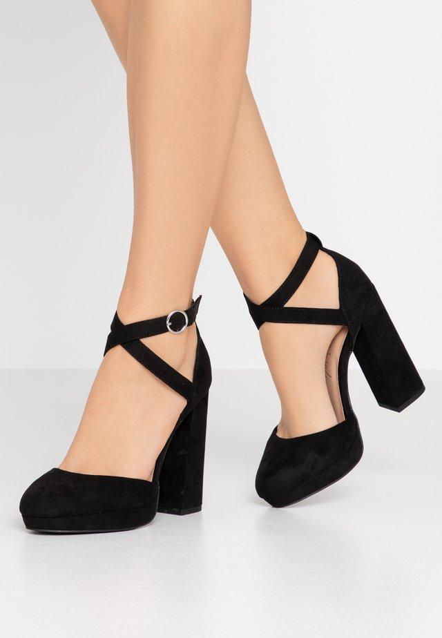 SAXO - High heels - black