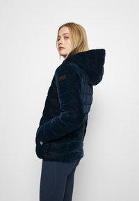 CMP - WOMAN JACKET FIX HOOD - Winter jacket - black blue - 3