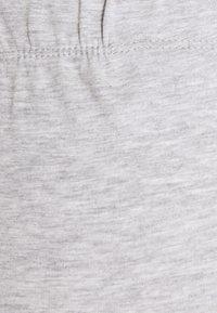 Anna Field MAMA - 2 PACK - Leggings - black/light grey - 3
