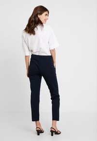 Marc O'Polo - PANTS TAILORED - Trousers - midnight blue - 2