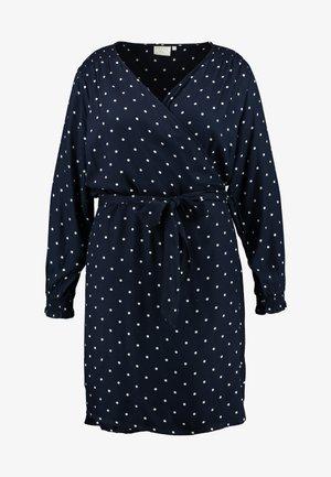 KCELENORA WRAP DRESS - Denní šaty - midnight marine