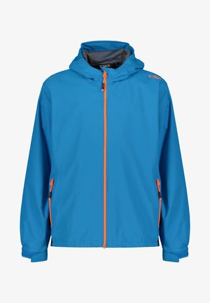 CMP JUNGEN REGENJACKE - Waterproof jacket - petrol (285)