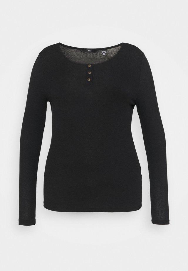 VMBERNASE BLOUSE CURVE - T-shirt à manches longues - black