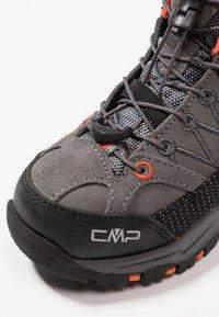 CMP - RIGEL MID SHOE WP UNISEX - Hiking shoes - stone/orange - 2
