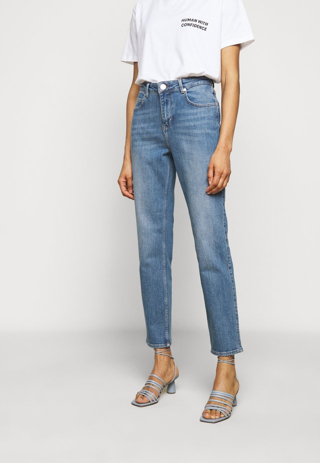 RIGGIS THINK TWICE - Jeans straight leg - mid blue