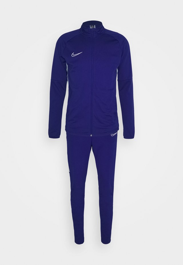 DRY ACADEMY SUIT SET - Tracksuit - deep royal blue/armory blue/white