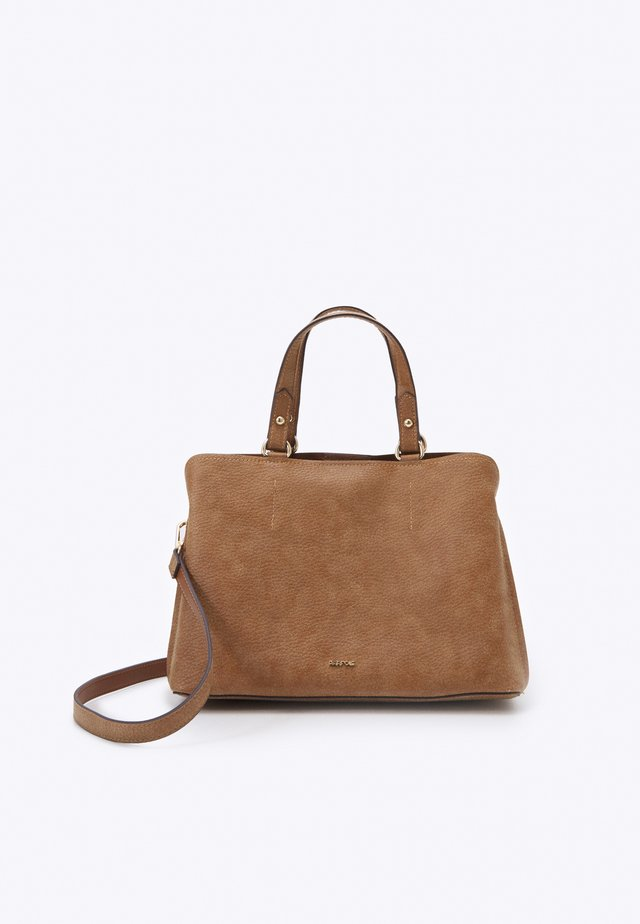 TOTE BAG LUCY - Shopping bag - camel