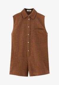 PULL&BEAR - Top - brown - 5