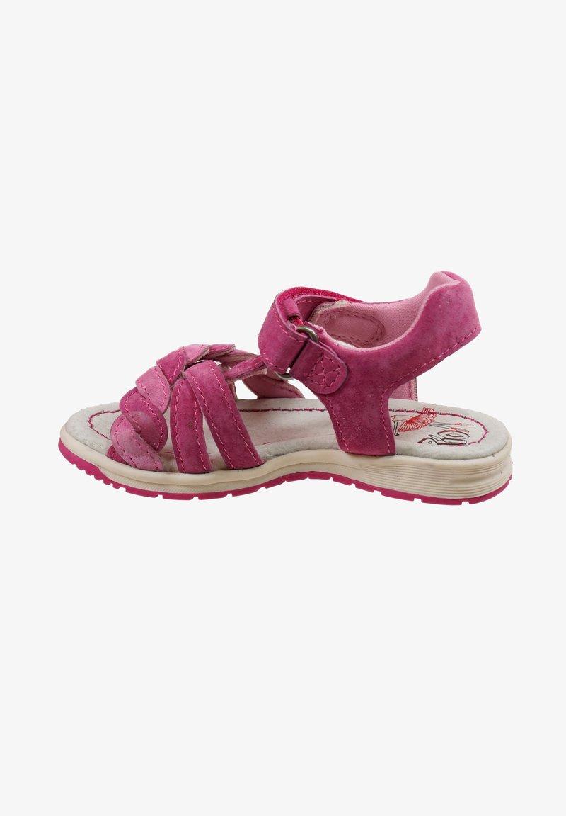 Pio - Sandals - dahlia fragola
