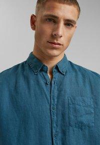Esprit - Shirt - teal blue - 4