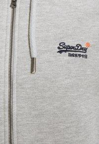 Superdry - CLASSIC ZIPHOOD - Zip-up hoodie - grey marl - 7