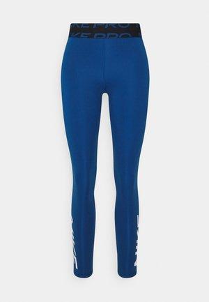 Leggings - court blue/black/white