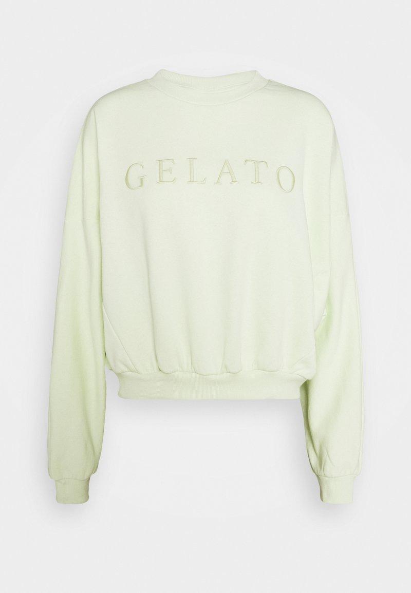Gina Tricot Petite - EVE SWEATER - Sweatshirt - lime cream