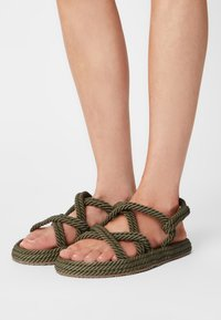 Copenhagen Shoes - SAFARI - Sandals - green - 0