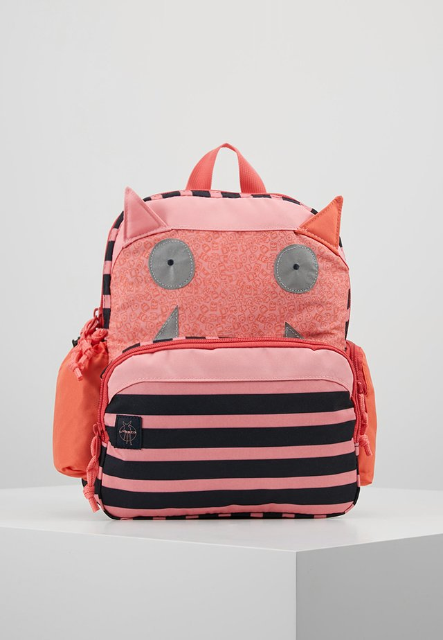 MEDIUM BACKPACK LITTLE MONSTER MAD MABEL - Sac à dos - pink/blue