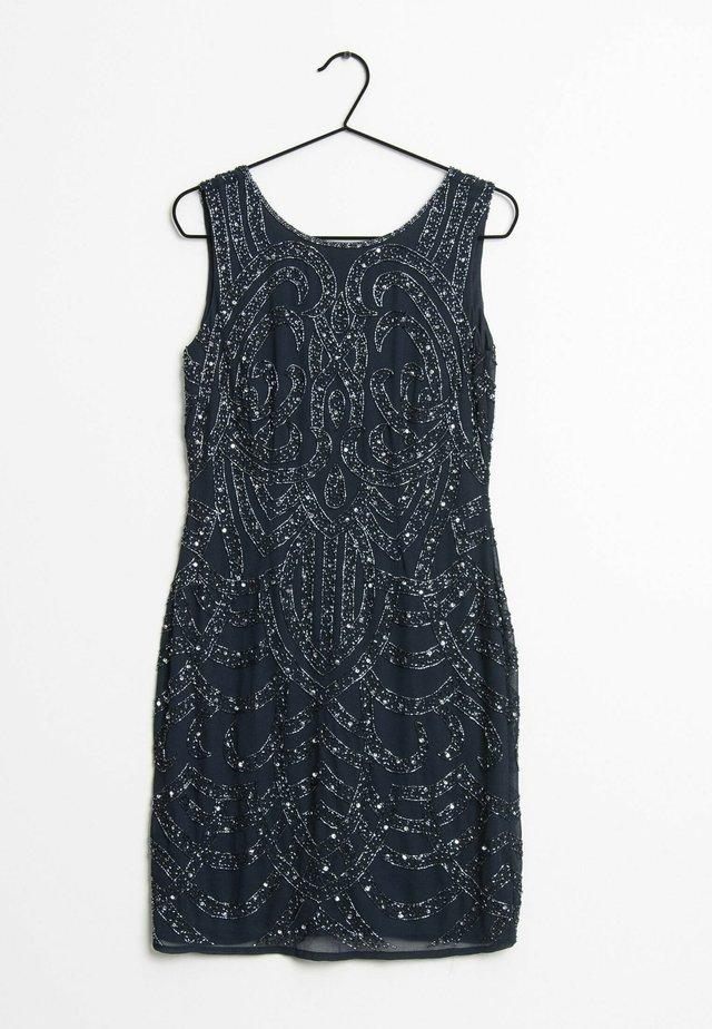 Korte jurk - blue