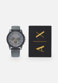 Armani Exchange - SET - Hodinky se stopkami - gray - 0