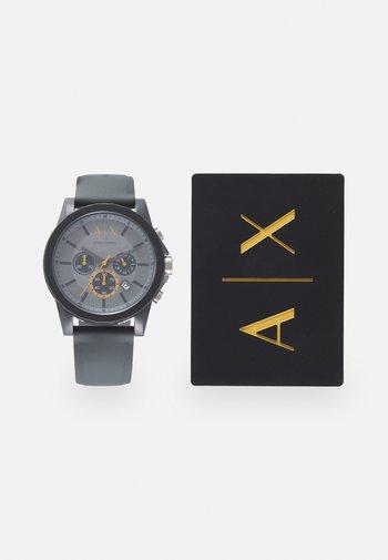 SET - Chronograph watch - gray