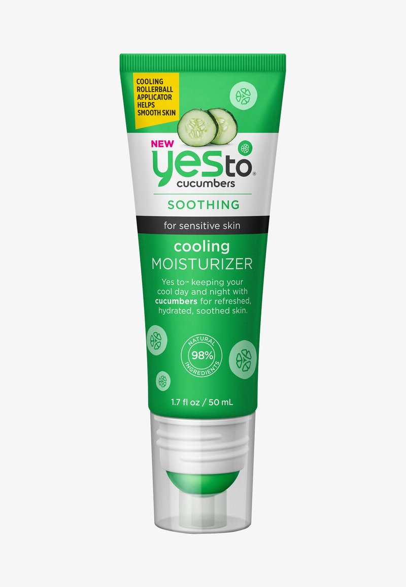 Yes To - CUCUMBERS COOLING MOISTURIZER - Face cream - -