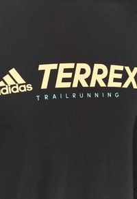adidas Performance - Terrex TRAIL LONGSL FOUNDATION PRIMEBLUE RUNNING LONG SLEEVE T-SHIRT - Long sleeved top - black - 5