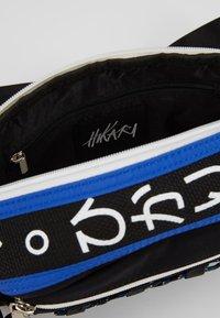 Hikari - CLIMBERS BUM BAG - Ledvinka - black/blue - 4