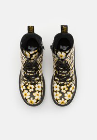 Dr. Martens - 1460 PASCAL - Lace-up ankle boots - black/yellow - 3