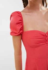 Bershka - Day dress - neon pink - 3
