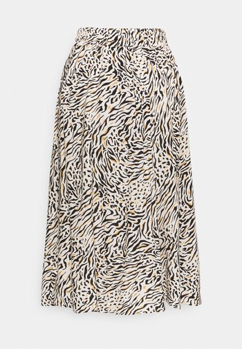 SC-ONASSIS 3 - A-line skirt - biscuit