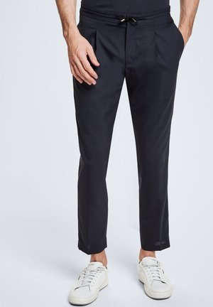 SATURN - Trousers - dunkelblau
