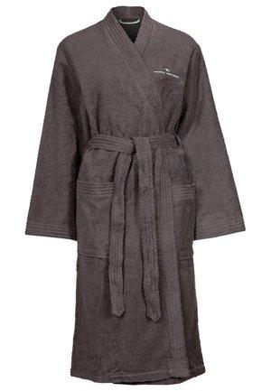 KIMONO BATHROBE - Dressing gown - dark grey