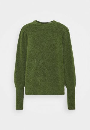 SLFLINNA NEW O NECK - Pullover - twist of lime