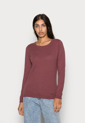 VMCARE STRUCTURE O NECK - Jersey de punto - rose brown