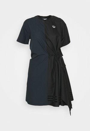 TEE DRESS - Freizeitkleid - black