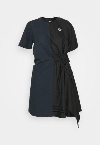 TEE DRESS - Vestido informal - black