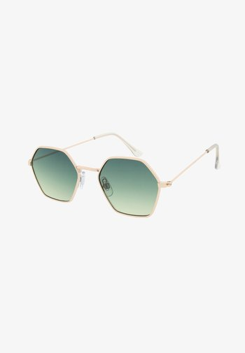 BEE - Sunglasses - pale gold / yellow
