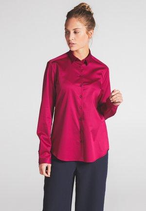 MODERN FIT - Button-down blouse - fuchsia