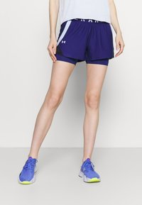 Under Armour - PLAY UP SHORTS - Pantaloncini sportivi - blue - 0