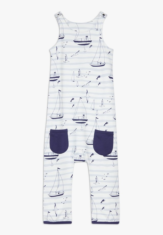 ZGREEN CORE SAILOR DUNGAREES - Jumpsuit - light blue