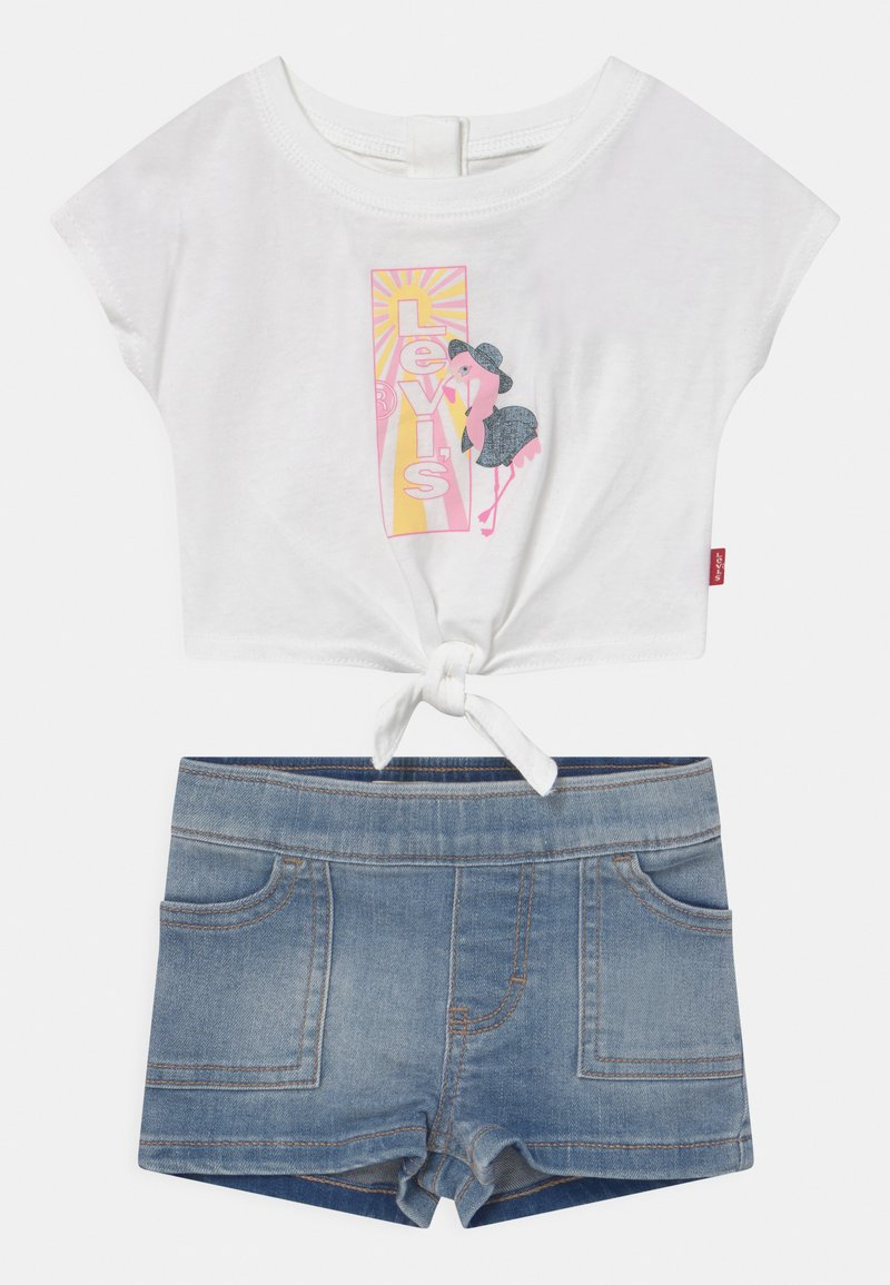 Levi's® - TIE FRONT SET - Print T-shirt - white