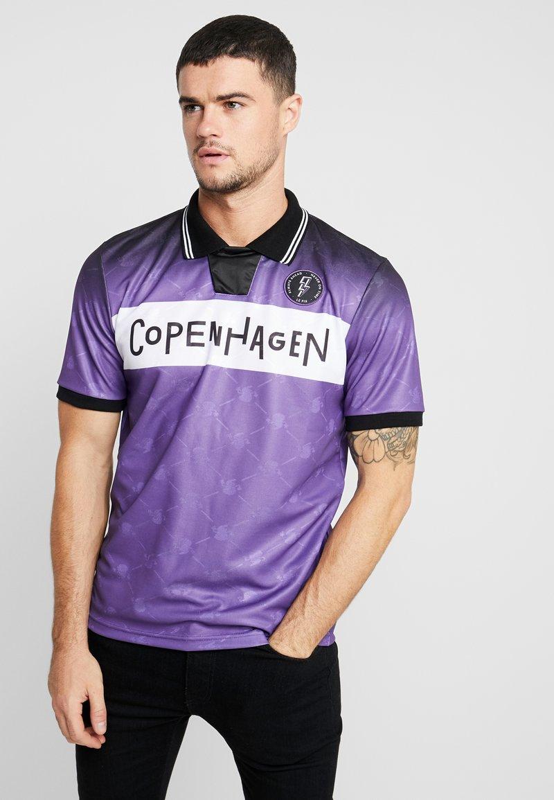Le Fix - FADE FOOTBALL - Polotričko - purple