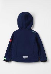 TrollKids - KIDS TROLLFJORD JACKET - Soft shell jacket - navy/light green - 1