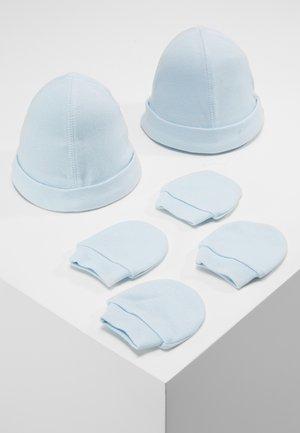 HAT AND MITT 2 PACK  - Bonnet - pale blue