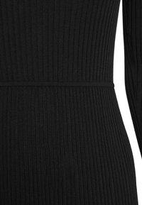 Patrizia Pepe - DRESS SEE THROUGH - Jumper dress - nero - 8