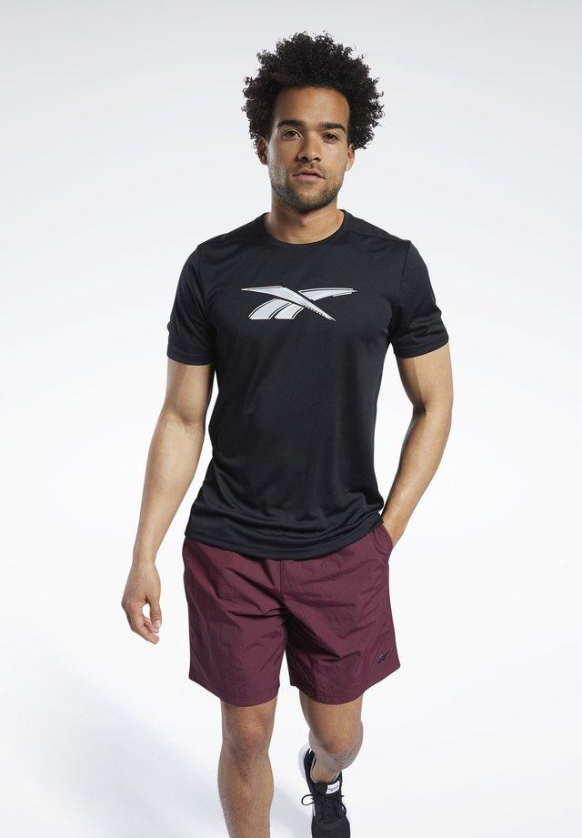 WORKOUT READY GRAPHIC T-SHIRT - T-shirt imprimé - black