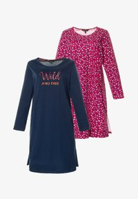 Ulla Popken - 2 PACK - Nightie - multicolour - 1